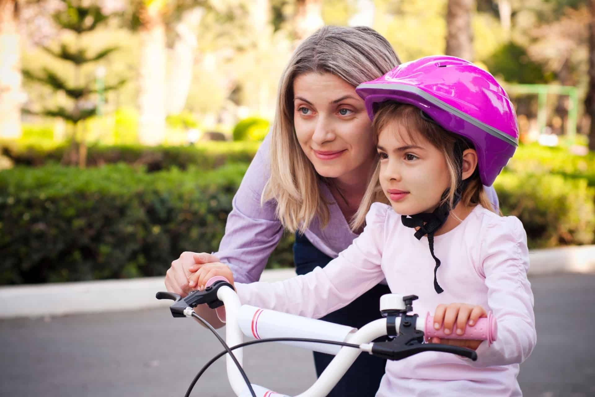the best bikes for 4 year old girls are lightweight but sturdy and have step-through frames.
