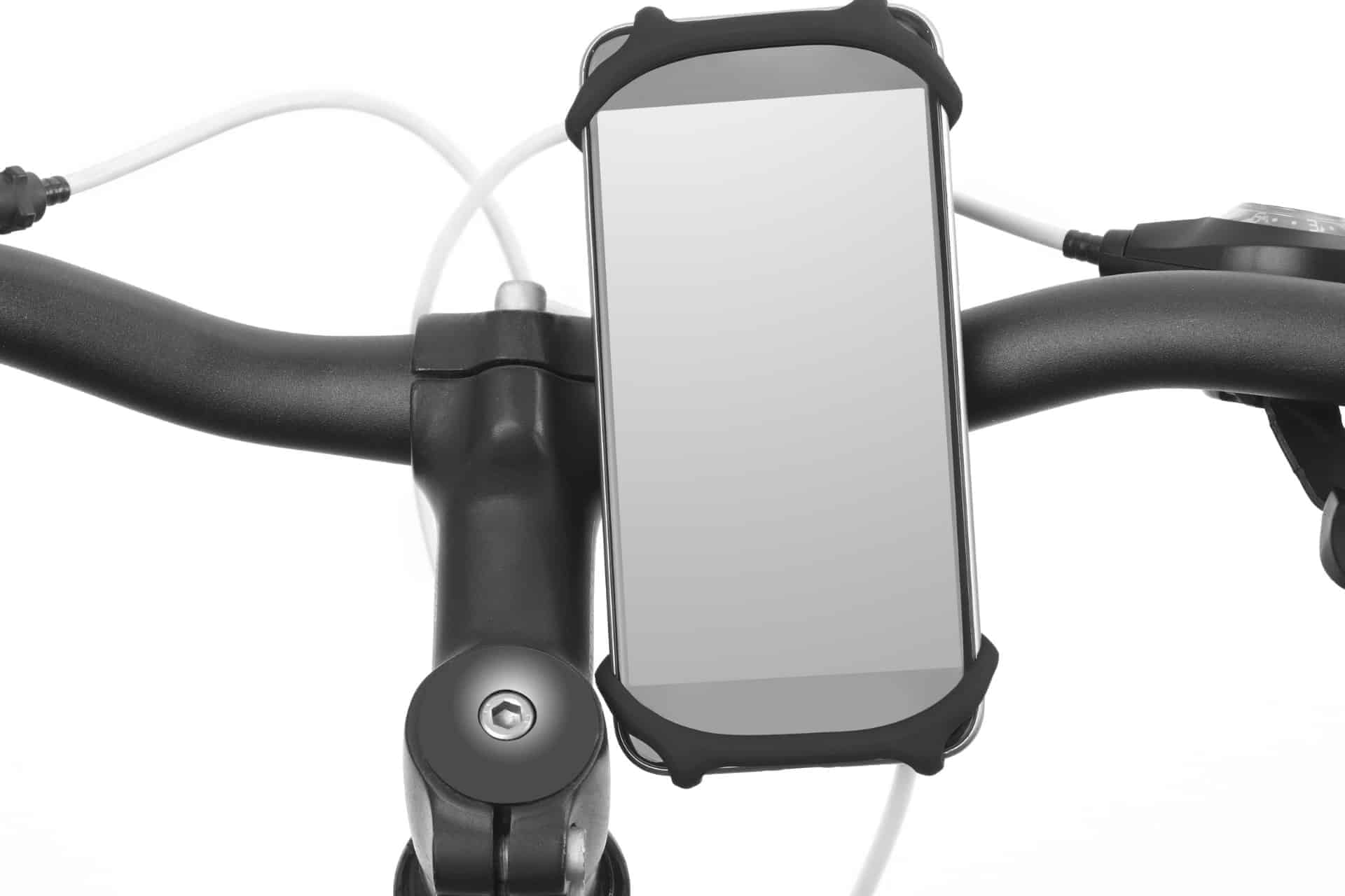 There are many different types of bike phone mounts to choose from.