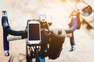 bike phone holders make tracking your rides easier