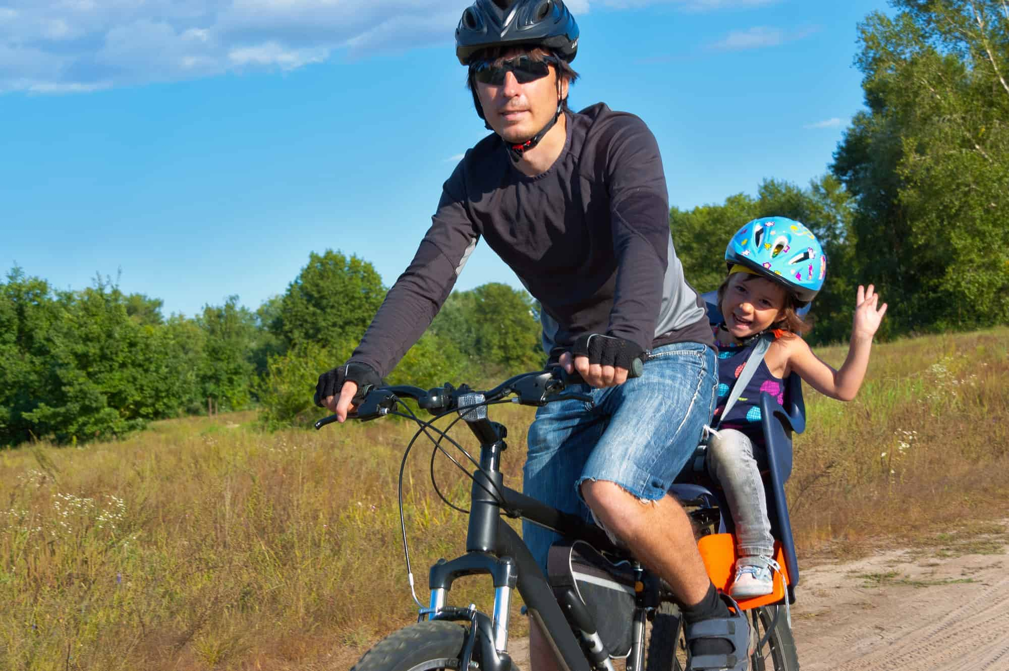 We review the best baby bike seats including the Thule Yepp Maxi