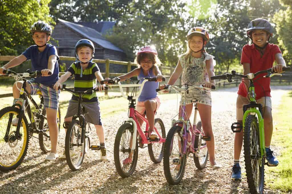 Boys and girls bikes