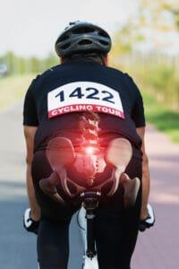 Bike seat adjustment causing back pain